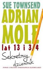 okładka książki sekretny dziennik adriana mole
