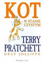 okładka książki kot w stanie czystym