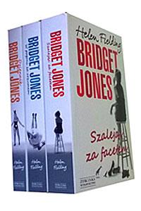 zestaw książek o Bridget Jones