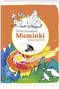 Okładka książki muminki