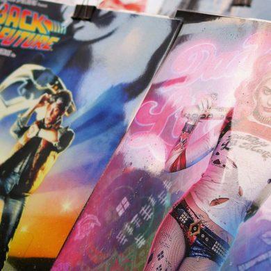 okładki kultowych filmów back to the future