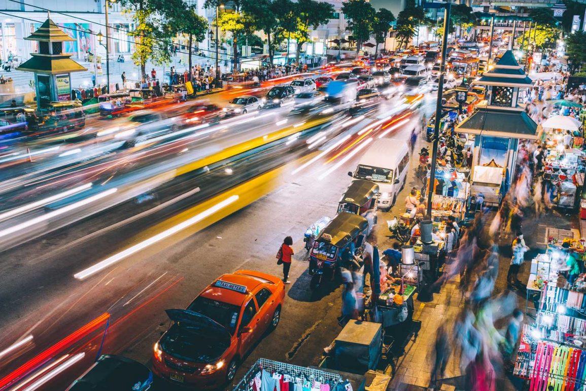 Tajlandia, ulice Bangkoku